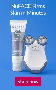 NuFACE firms skin in minutes. Click here to Shop NuFACE devices and products.