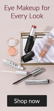 Eye makeup for every look with Jane Iredale, Colorescience and more. Click here to shop eye makeup.