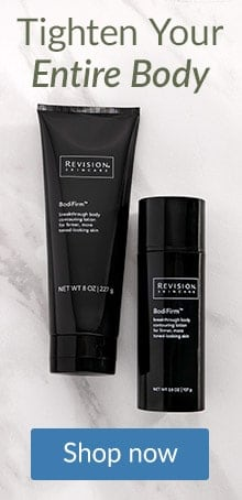 Tighten sagging skin on arms and legs with Revision Skincare Bodifirm.