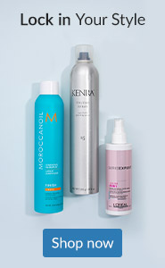 Texturize, amplify and lock in your style. Click here to shop hair finishing and styling sprays.