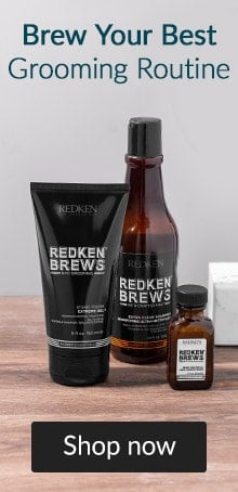 Brew your best grooming routine. Click here to shop Redken Brews.