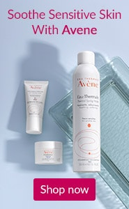 Soothe sensitive skin with Avene. Click here to shop Avene Skin Care.