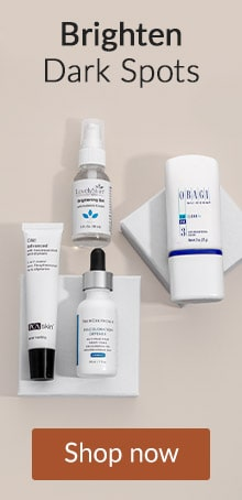 Brighten Dark Spots with PCA Skin, OBAGI and more. Click here to shop skin care.
