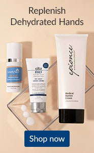 Replenish dehydrated hands. Click here to read our blog on the best hand creams for dry hands.