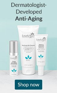 Dermatologist-developed anti-aging. Click here to shop LovelySkin LUXE skin care products.