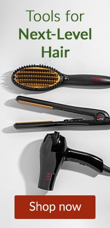 Heat styling tools from CHI. Click here to shop CHI devices.