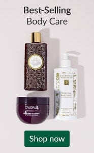 Best-selling body care. Click here to shop bath and body best sellers.