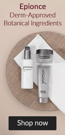 Epionce. Derm-approved botanical ingredients. Click here to shop Epionce skin care.