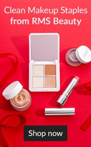 Clean makeup staples from RMS Beauty. Click here to shop RMS Beauty.