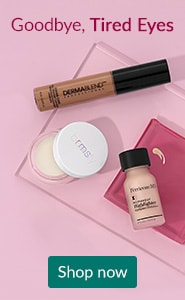 Goodbye, tired eyes. Click here to shop highlighters and concealers.