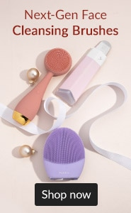 Next-gen face cleansing brushes. Click here to read our blog on what to replace your Clarisonic device with.