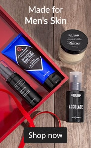 Made for men's skin. Click here to shop gifts for him.