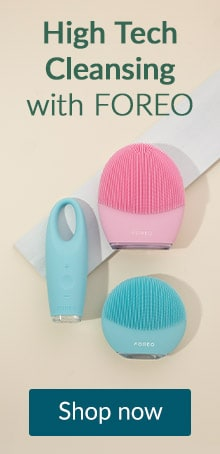High tech cleansing with FOREO. Click here to shop FOREO devices and skin care products.