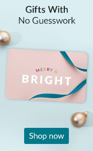 Gifts with no guesswork. Click here to shop LovelySkin gift cards.