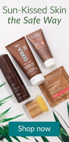 Self-tanning products by plants. Get sun-kissed the safe way with self-tanners at LovelySkin.