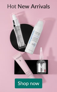 Hot new arrivals. Click here to shop new skin care.