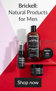 Brickell: natural products for men. Click here to shop Brickell.